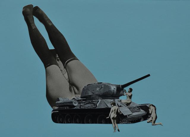 oorlog - collage - vrouwen